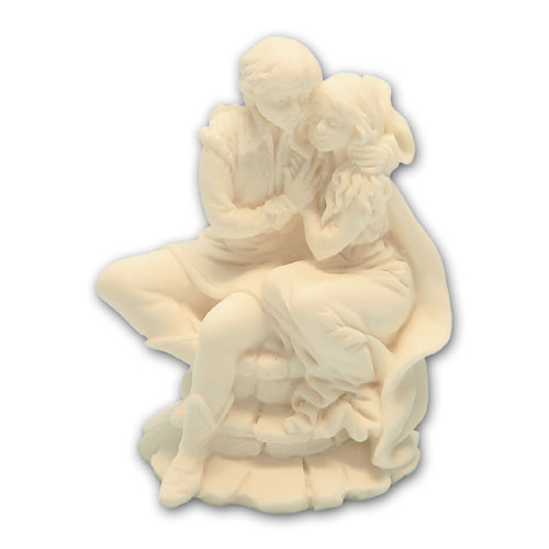 Bruidspaar marmer Romeo & Julia