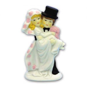 Item # 590 - Bruidspaar Figurine Porselein - Maat 12 cm