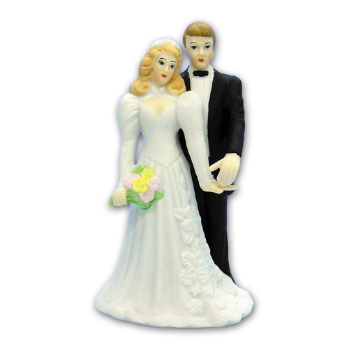 Bruidspaar Porselein D