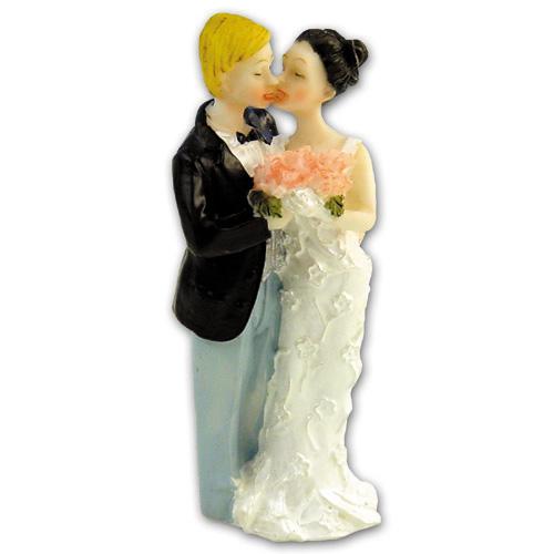 Bruidspaar met Bloemenboeket