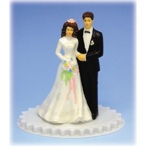 Item # 305 - Bruidspaar Kunststof