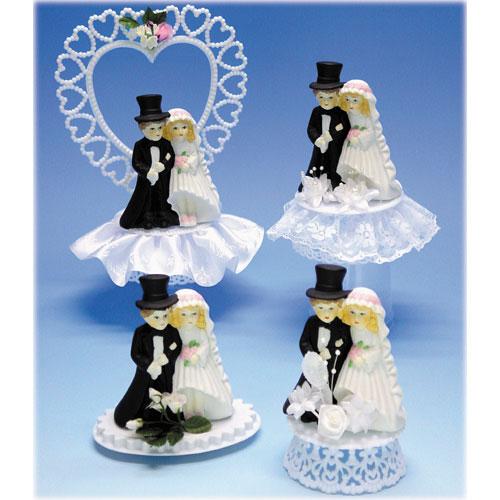 Voordeelset van 4 Bruidsparen Combinatie # 401 t/m # 404