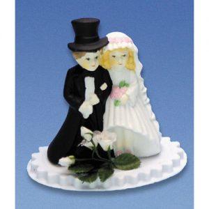 Item # 401 - Bruidspaar Porselein