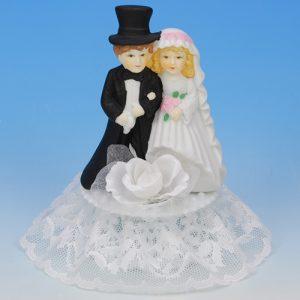 Item # 403 - Bruidspaar Porselein