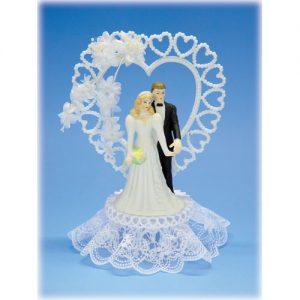 Item # 702 - Bruidspaar Porselein