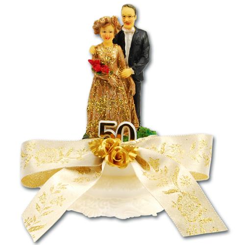 Jubileum Bruidspaar - Goud - 50 Jaar