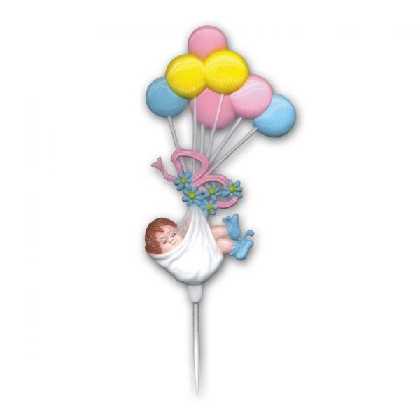 Baby Ballon Prikkers - 24 Stuks