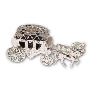 Bruidskoets Zilver - 6 stuks