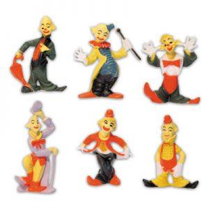 Clowntjes Set - 6 Modellen per setje