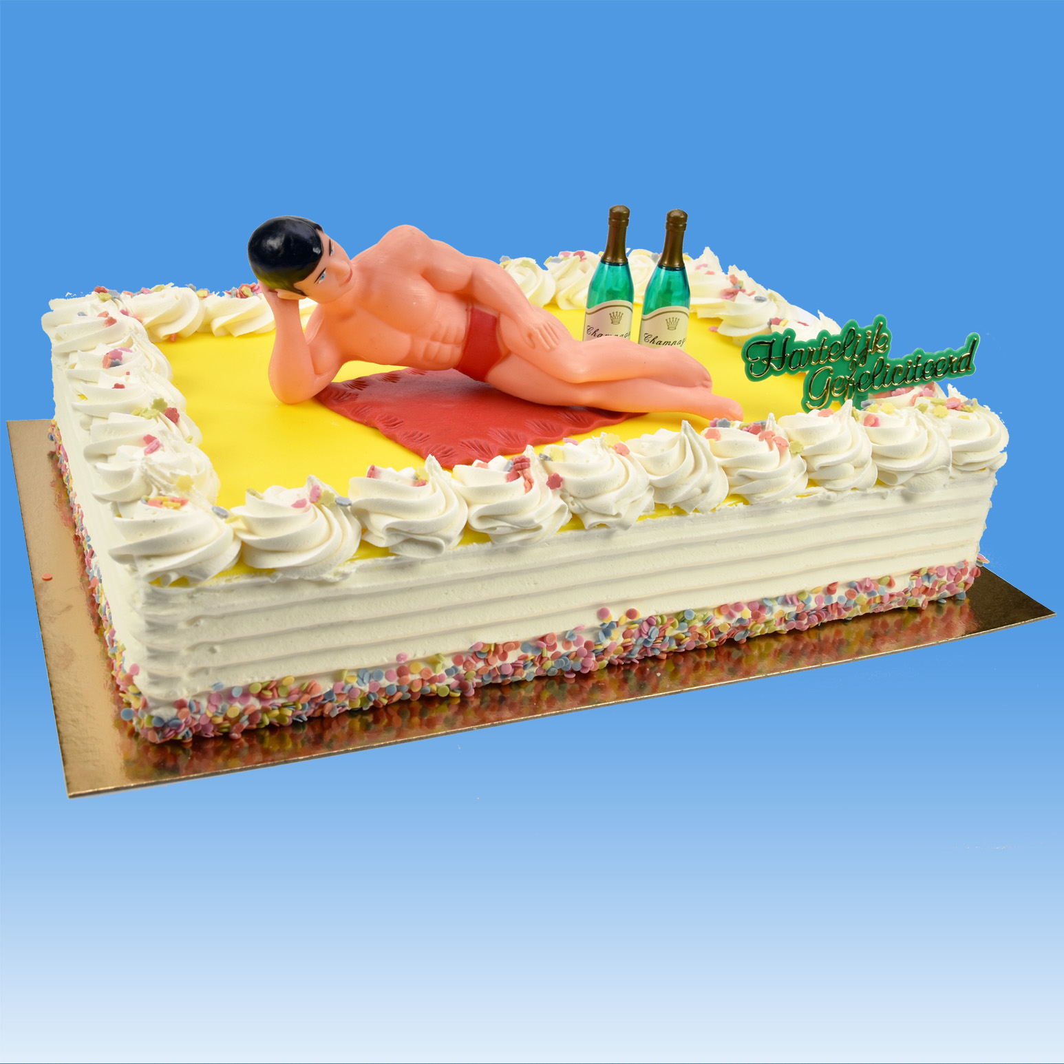 Stupendous Taartsetje Macho Man Online Bestellen Trend Decor Funny Birthday Cards Online Fluifree Goldxyz