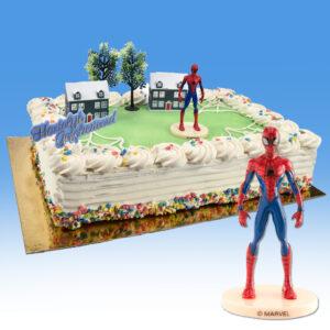 Spiderman - Taart Decoratie Set