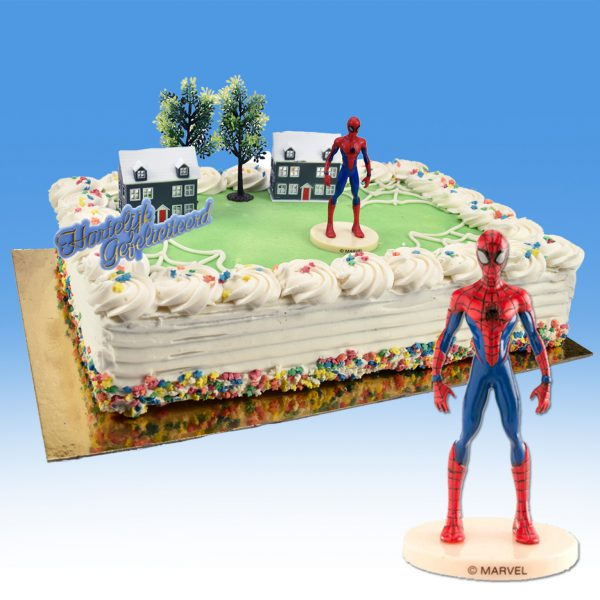 Spiderman - Taart Decoratie Set