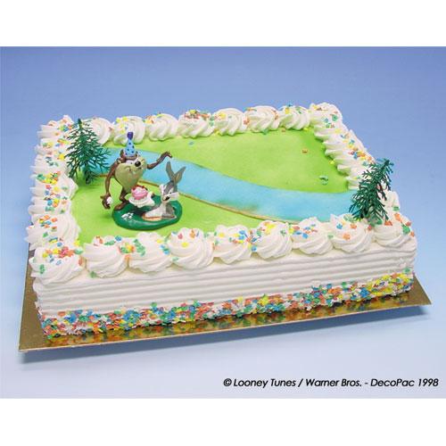 Bugs Bunny en Taz - Taart Decoratie Set