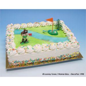 Golfer Taz - Taart Decoratie Set