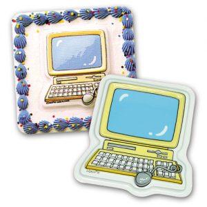 DecoPlacs: Computer - 12 stuks