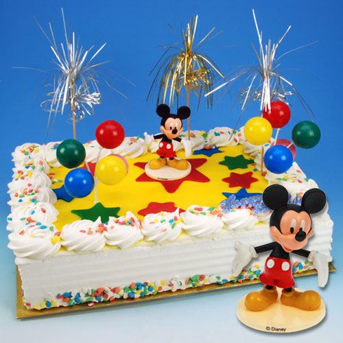 Mickey Mouse - Taart Decoratie Set