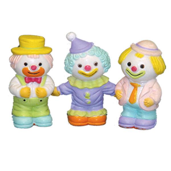 Pastel Clowntjes - 24 Stuks