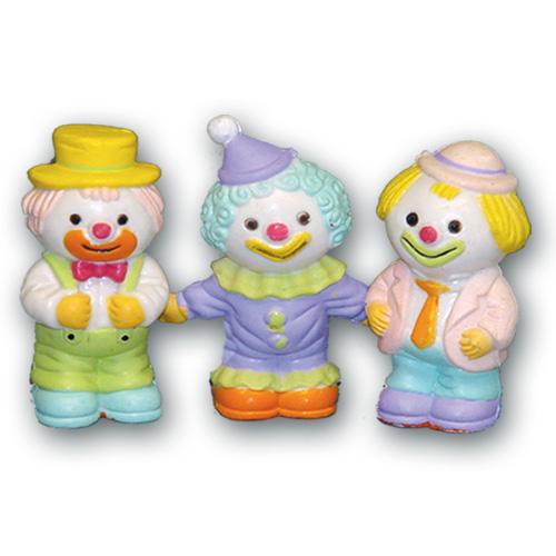 Pastel Clowntjes – 24 Stuks