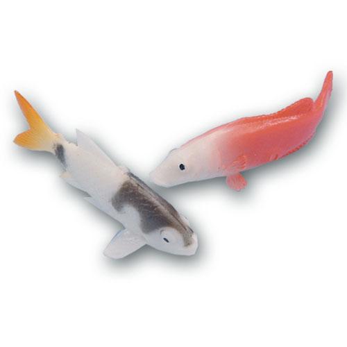 Plastic Vissen - 12 Stuks per zakje