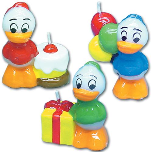 Disney's - Kwik, Kwek & Kwak Kaarsjes - 36 st./ds.