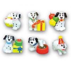 Disney's - 101 Dalmatiërs Pups kaarsjes - 36 st/ds