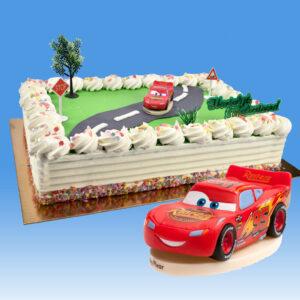 Cars - Taart Decoratie Set