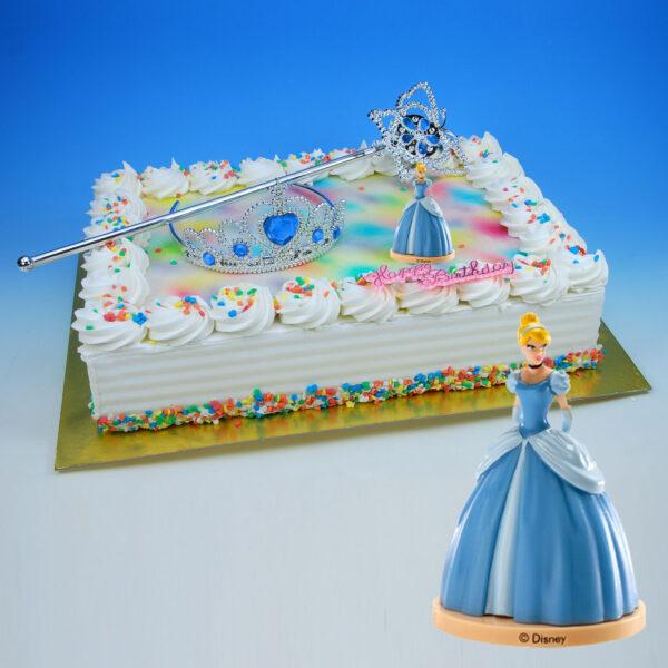 Prinses - Taart Decoratie Set