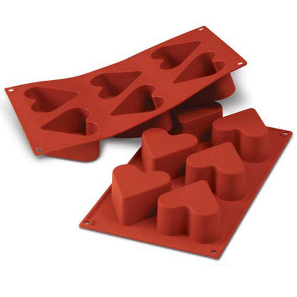 Siliconflex Siliconen Bakvorm Harten