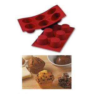 Item # SF023 - Sil. Bakvorm Medium Muffin - Ø69 h 35 mm - 1 st