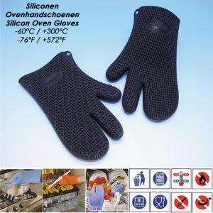 Siliconen Oven Handschoenen - 1 Paar