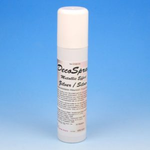 Item # 405120 - DecoSpray Zilver - Levensmiddelen Kleurstof