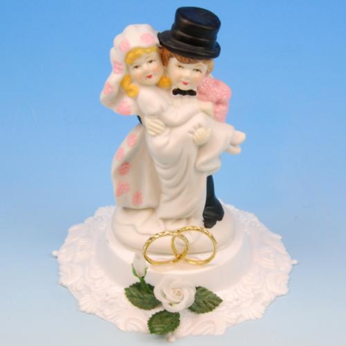 Bruidspaar Porselein B ringen