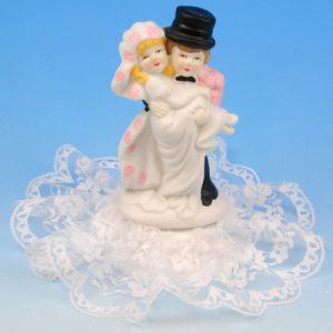 Bruidspaar Porselein B galant