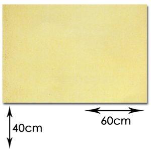 Goudkarton - Rechthoek 60x40cm - 10 stuks/pak