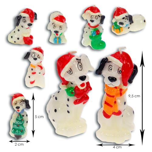 Disney's 101 Dalmatiërs Kerst Kaarsjes set