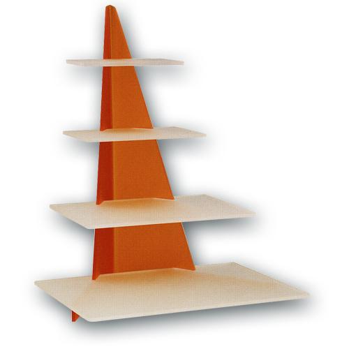 Taart Standaard Modern Orange Rechthoek