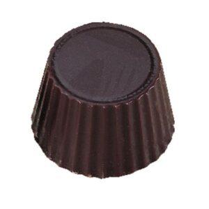 Polycarbonaat Bonbon Chocoladevorm: Rond gekarteld