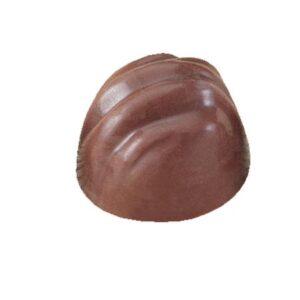 Polycarbonaat Bonbon Chocoladevorm: Rond met Reliëf
