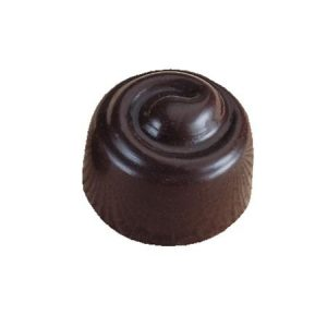 Polycarbonaat Bonbon Chocoladevorm: Rond Swirl