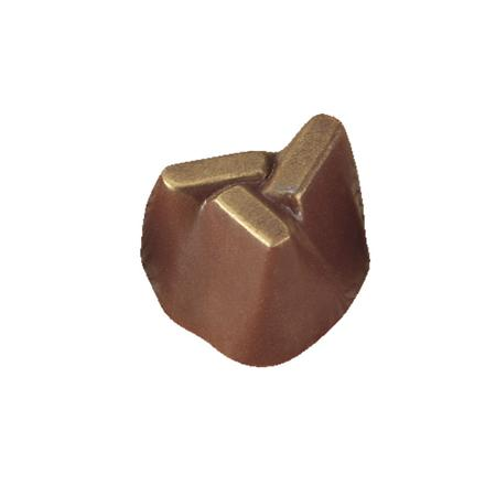 Polycarbonaat Bonbon Chocoladevorm: Rots