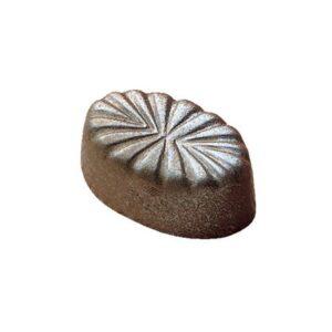 Polycarbonaat Bonbon Chocoladevorm: Ovaal met Reliëf