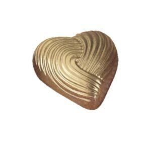 Polycarbonaat Bonbon Chocoladevorm: Hart Reliëf