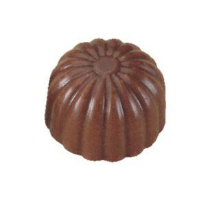 Polycarbonaat Bonbon Chocoladevorm: Rond Bloem