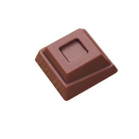 Polycarbonaat Bonbon Chocoladevorm: Vierkant 2-laags