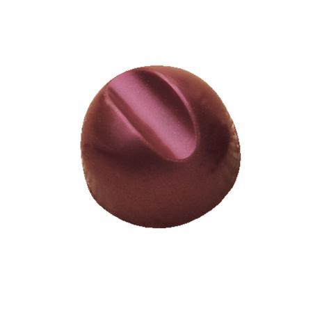 Polycarbonaat Bonbon Chocoladevorm: Bol met streep