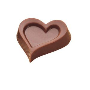 Polycarbonaat Bonbon Chocoladevorm: Hart met rand