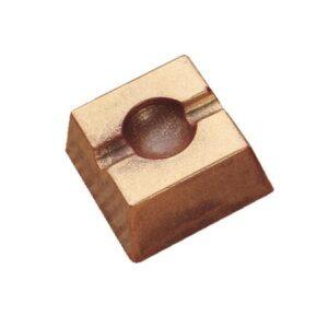 Polycarbonaat Bonbon Chocoladevorm: Vierkant met Holletje