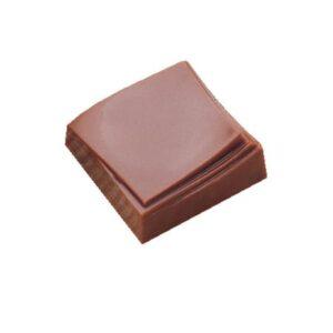 Polycarbonaat Bonbon Chocoladevorm: Vierkant met golf
