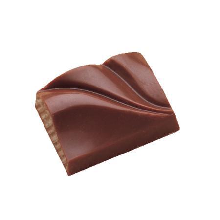 Polycarbonaat Bonbon Chocoladevorm: Rechthoek - Golvend