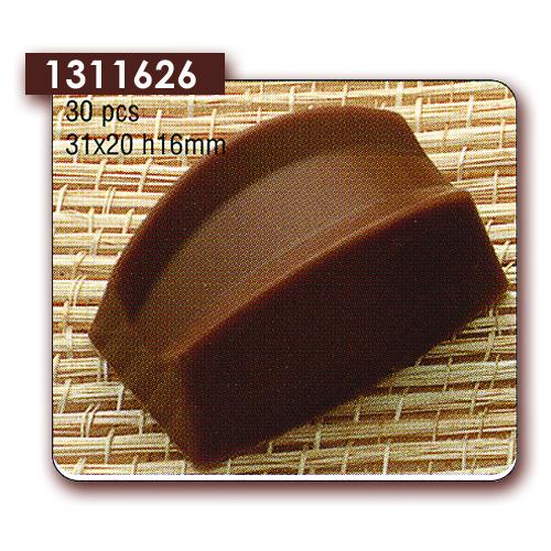 Polycarbonaat Bonbon Chocoladevorm: Rechthoek / Brug